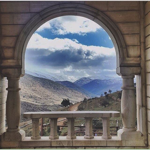 ThisisLebanon Beautiful View In Rashaya Photo by @dialoushka