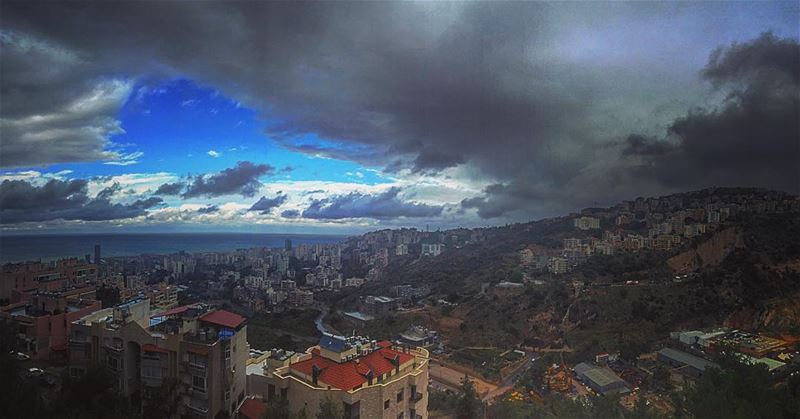 May all the clouds that pass through your sky only rain to wash away your... (Bsalim, Beirut)