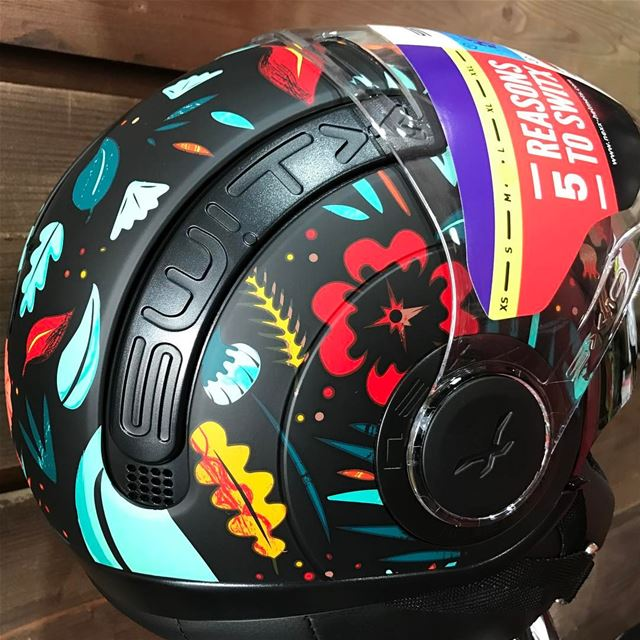 Reasons to look forward to Spring 🌺 Nexx Colorful Helmets 🌺 polaris ...