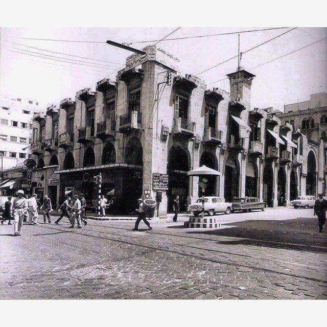 Beirut Weygand Street In 1949 .