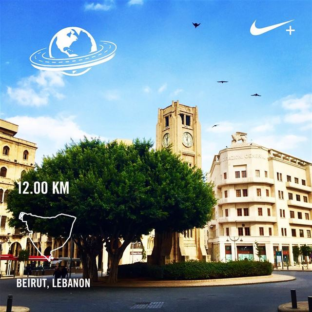 Back on the roads! roadrunner beiruncrew wou7oush sunnyday ... (Al Nejmeh Square)