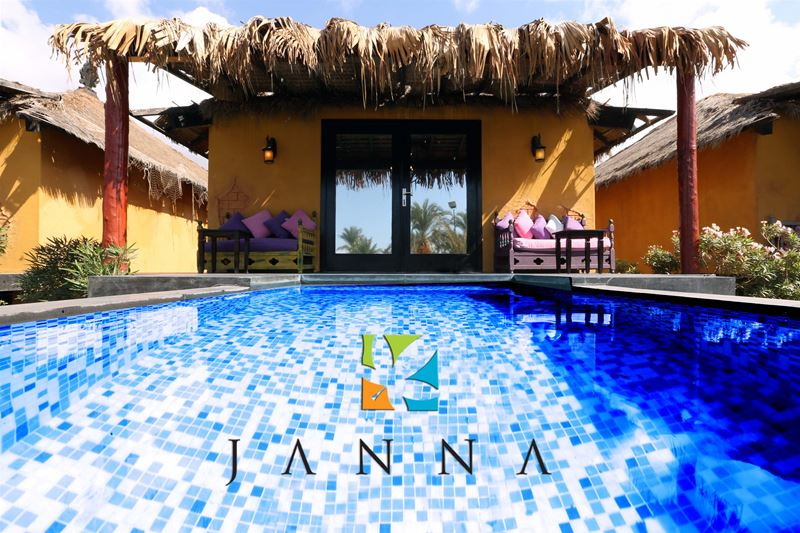 Janna Beach Resort has a Lebanese boutique Hotel