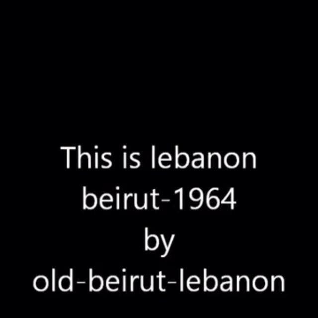 Lebanon Beirut 1964 ,