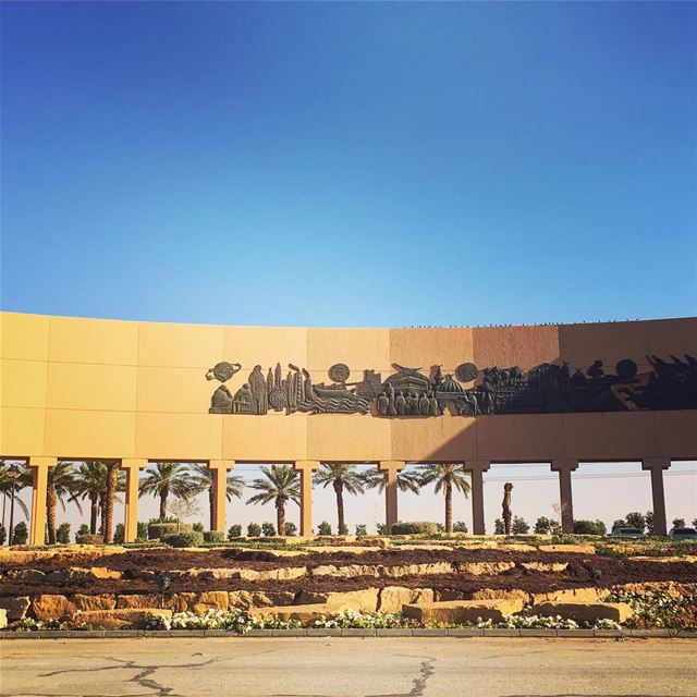 Checkpoint Art photooftheday instapassport travelgram mytravelgram ... (Makkah Riyadh Highway)