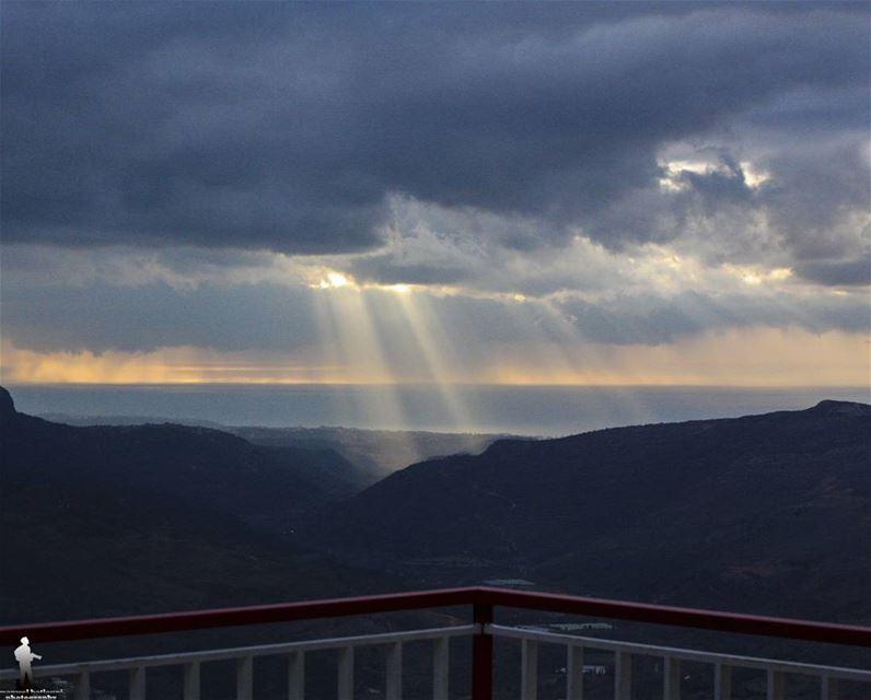 View from my balcony 👌 chouf jbaa lebanon lebanonbyalocal ...