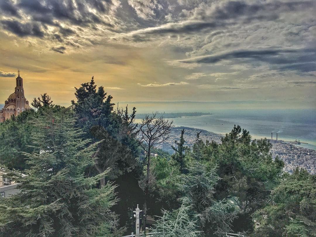 A Prayer Into the Void..... scenic harissa nature_perfection nature... (Harîssa, Mont-Liban, Lebanon)