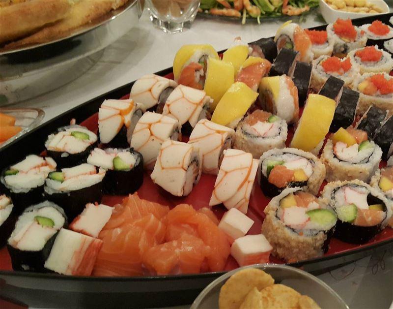 Franco made sushi 🍣 homemade sushi makemysushi google lebanon ...