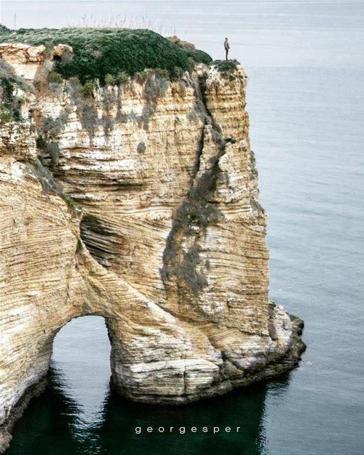 The Rock ....... proudlylebanese beautifullebanon livelovebeirut ... (Beirut, Lebanon)