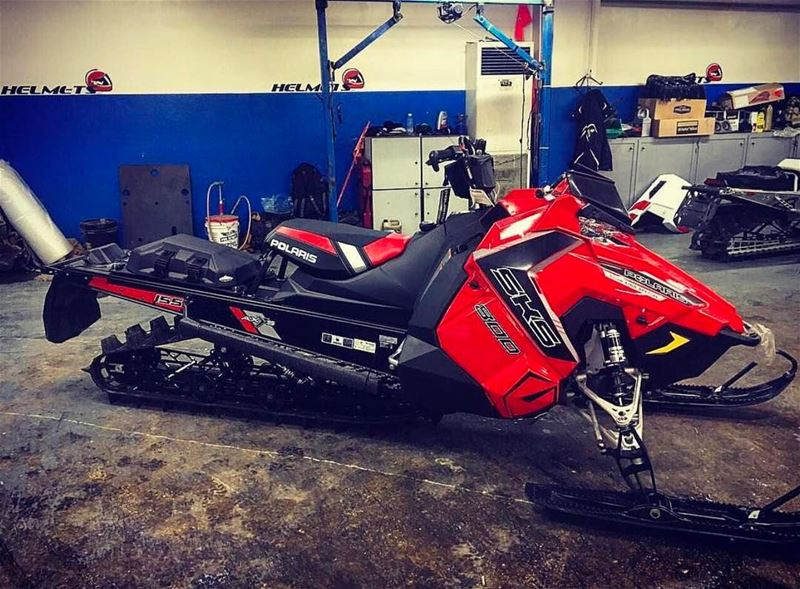 Congrats Karim Jaroudy on your new Polaris SKS with GGB exhaust installed !