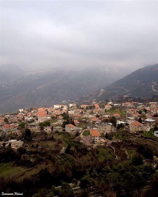 landscape nature winter lebanon ...