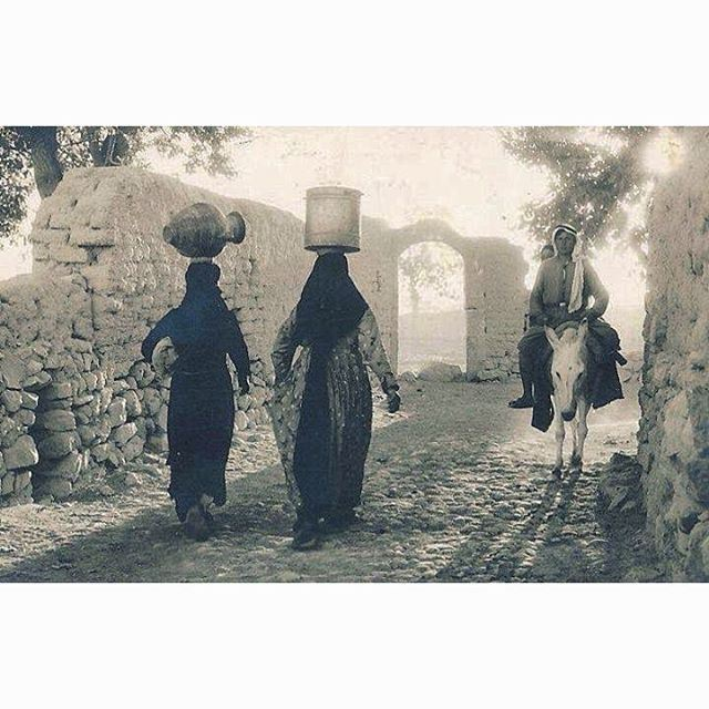 57 years ago Bekaa In 1959 - Rural Daily Traditional Life ,