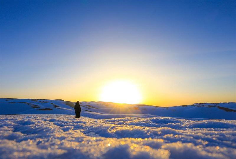 The magic of new beginnings ... sunrise ✨ (Jabal Sehta)