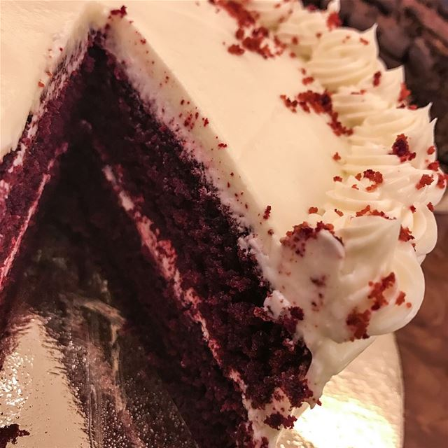 When we decide to taste all three! An amazing Carrot, Red Velvet &...