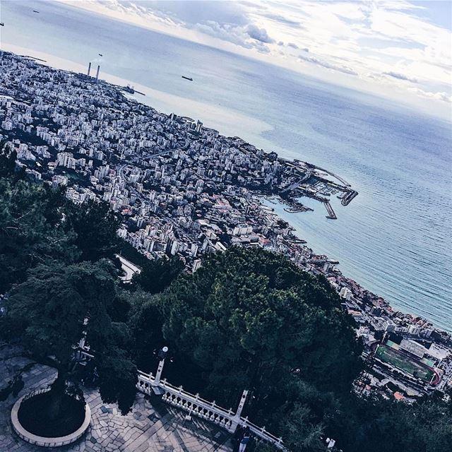 •Lebanese views• (Harîssa, Mont-Liban, Lebanon)