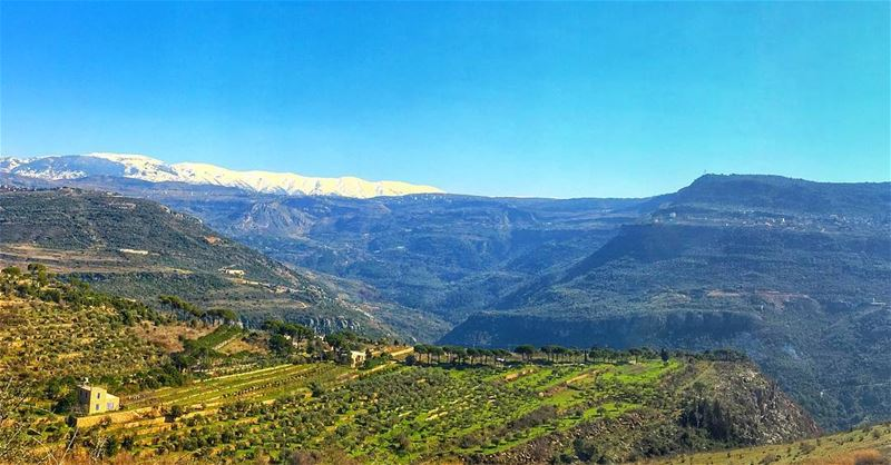 بتتلج الدني بتشمس الدنيي🏔 (Aley District)