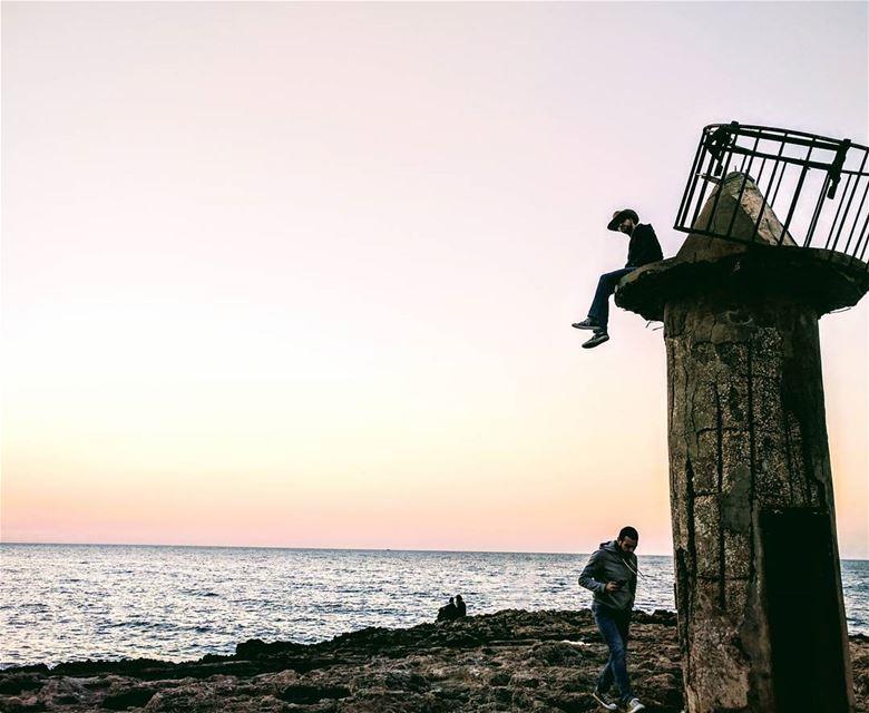 The boys❤️...and some random couple batroun livelovebatroun ... (Al Batrun, Liban-Nord, Lebanon)
