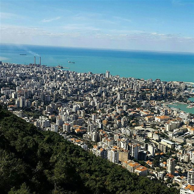 Beautiful Sunday ☉⬅Swipe for panoramic view ➡ (Jounieh - Harissa)