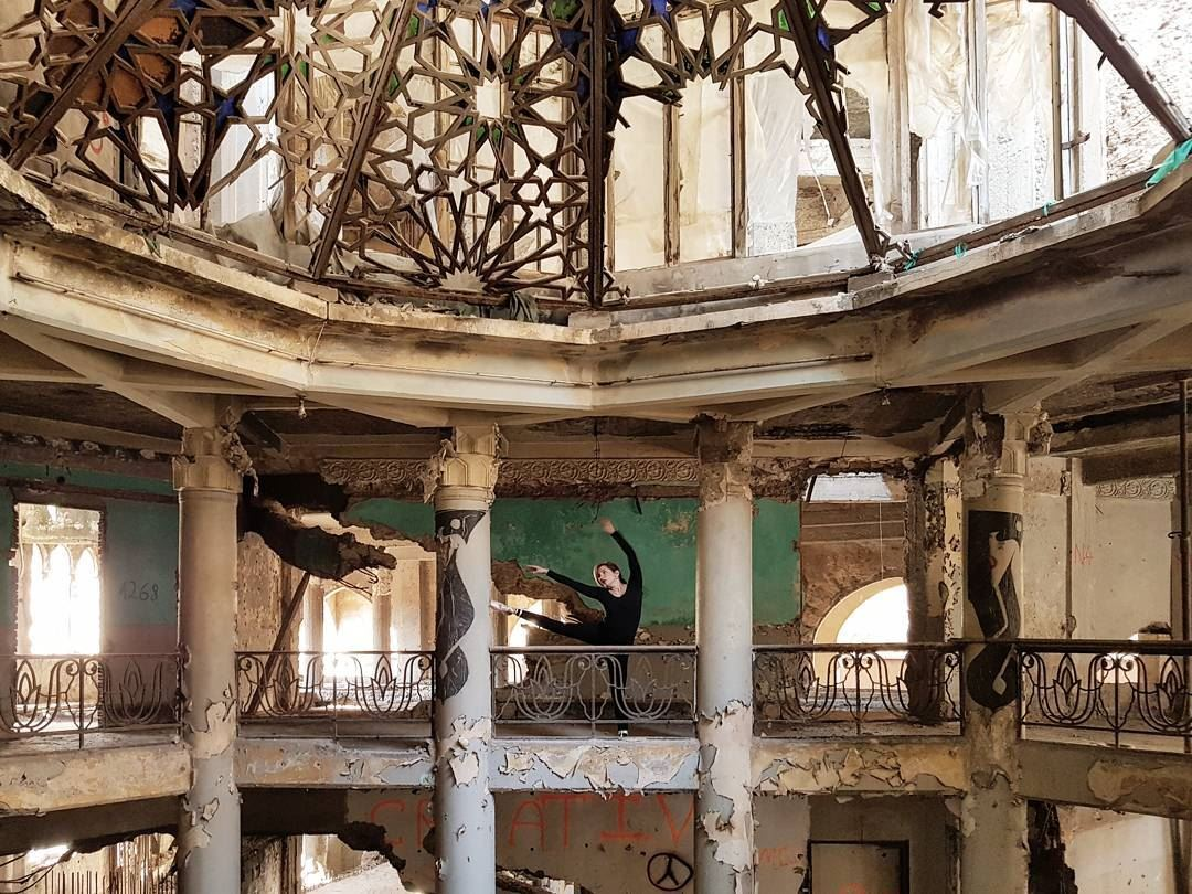 "~ The ""Grand Theatre"" Beirut ~... abandoned abandonedplaces ... (Beirut, Lebanon)"