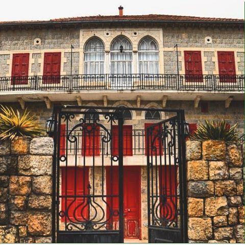 Lebanese Façade Marjeyoun