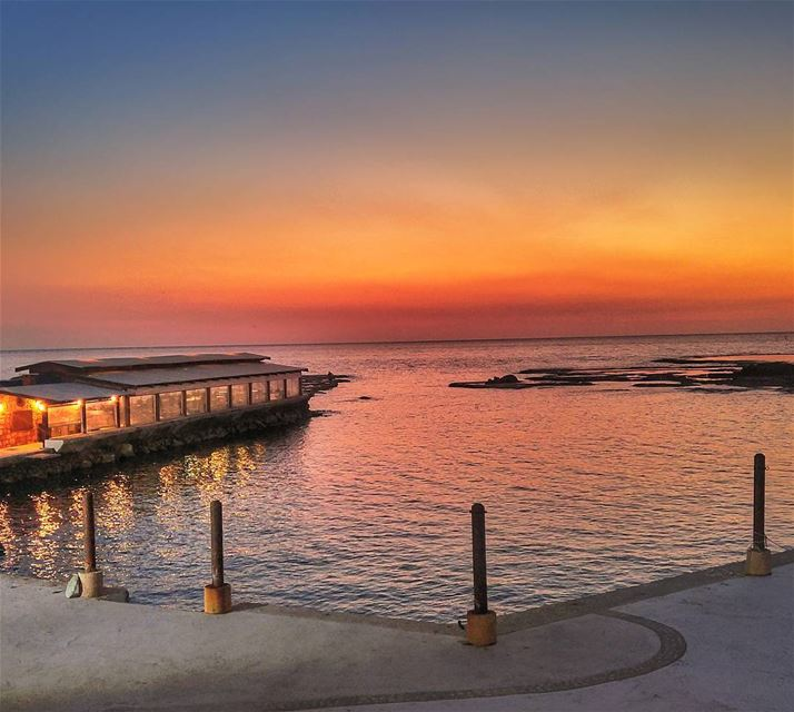 Byblos Sunset 😍 lebanon nature naturelovers natureporn landscape ... (Byblos, Lebanon)