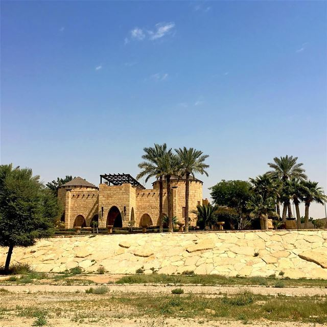 Diriyah Chapter - 02. The Stand Alone House, it is soo Lebanese... (Diriyah)