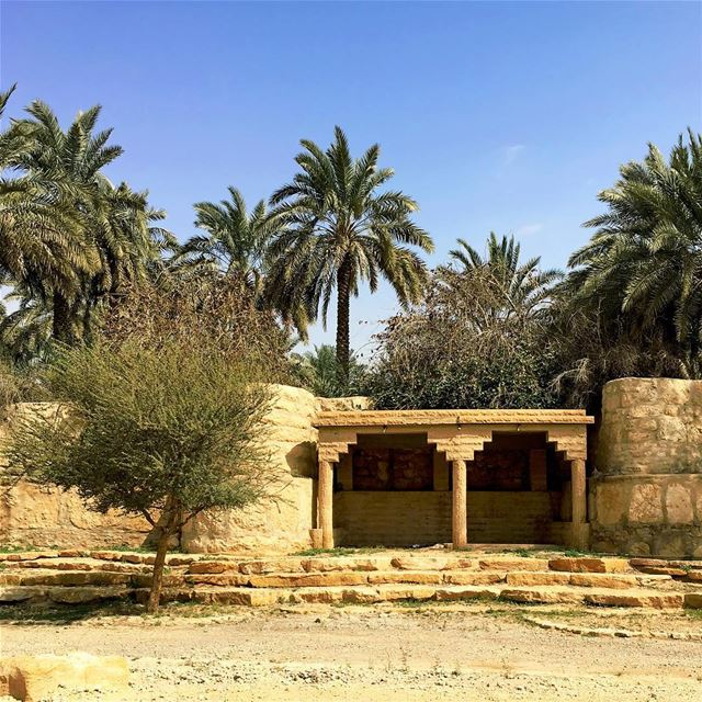 Diriyah Chapter - 03. The Shaded Corner photooftheday instapassport ... (Diriyah)