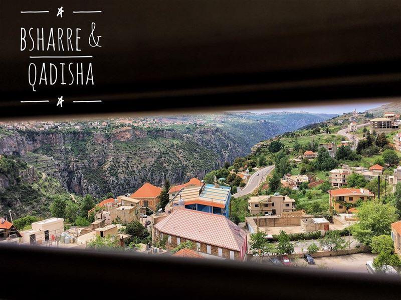 As seen from the domes of St. Seba Cathedral... bsharre livelovelebanon ... (Bcharreh, Liban-Nord, Lebanon)