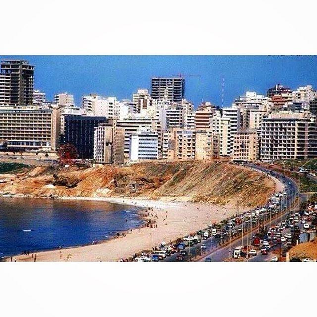 بيروت الرملة البيضاء عام ١٩٨٣ ،
