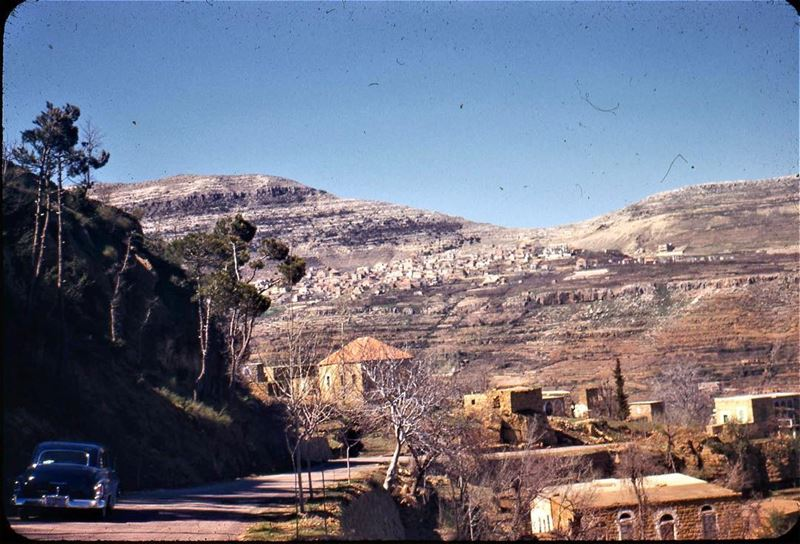 شمال لبنان ١٩٥٦ ،North Lebanon 1956 . LiveloveLebanon Credits The Lebanese Heritage ©