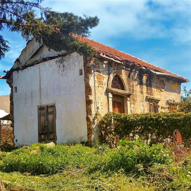 Old but Gold 🏡 lebanon nature naturelovers landscape follow4follow ... (Byblos, Lebanon)