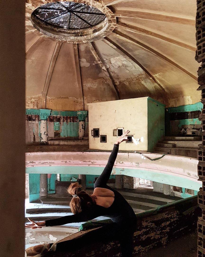 "~ The ""Grand Theatre"" - Beirut ~... abandoned abandonedplaces ... (Beirut, Lebanon)"