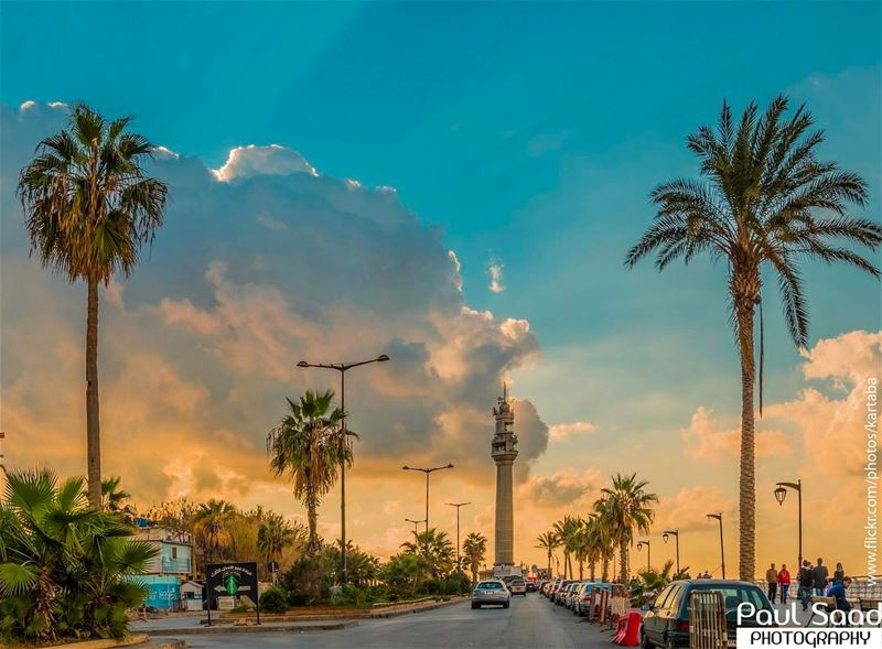 manara beirut lebanon sky ... (Manara Palace Cafe / Rawsha)