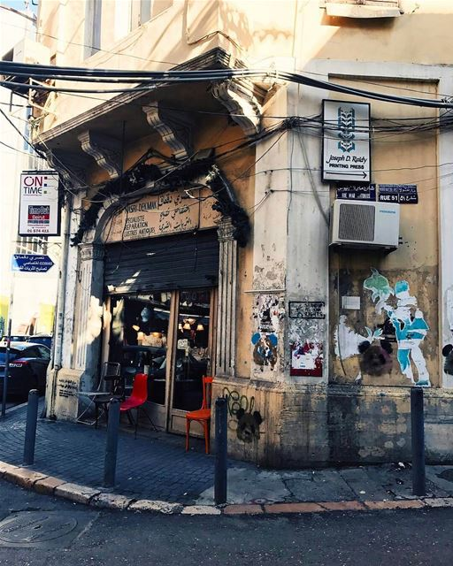 Rue 51 | BeyrouthBy @camieeri Gemmayze Beirut Liban Libano Lebanon... (Gemmayze)