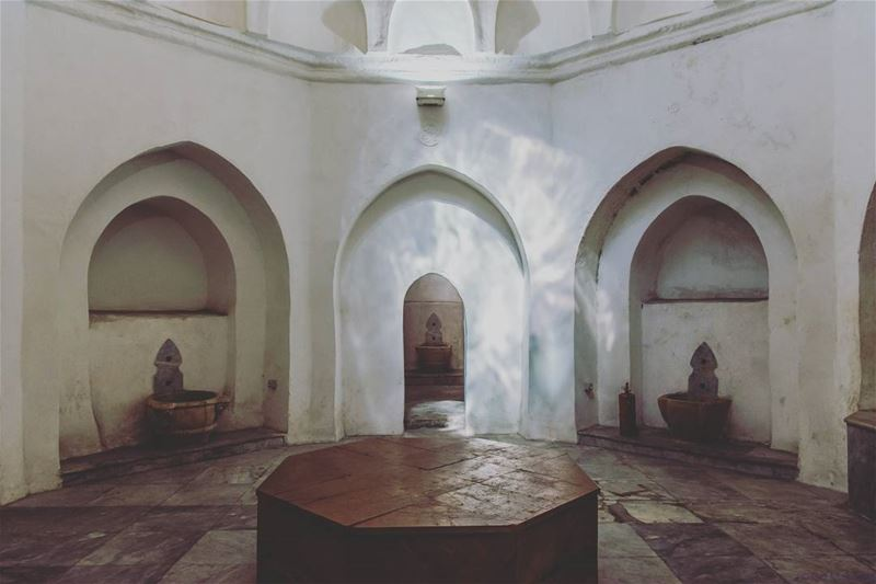 Hamam in Tripoli. symmetry livelovelebanon livelovebeirut instaleb ... (Tripoli, Lebanon)