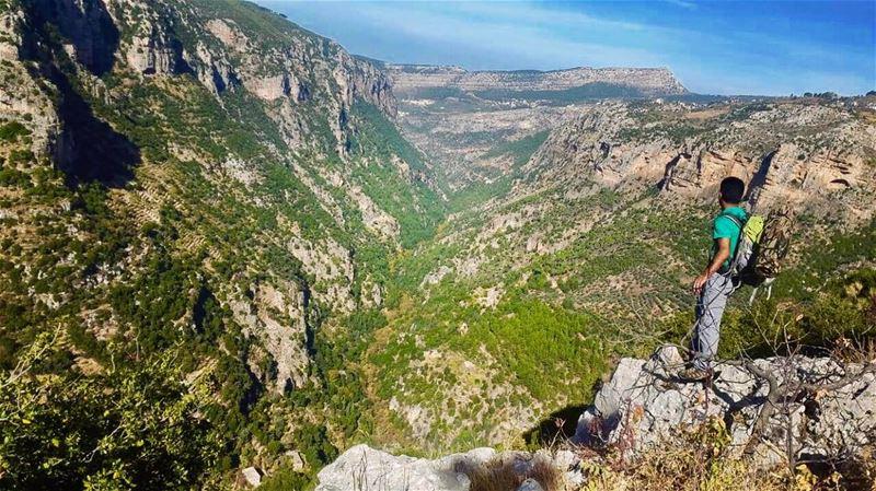 The most beautiful valley!.📷 @reema_hdd ...... livelovebeirut ... (Wadi qannoubine)