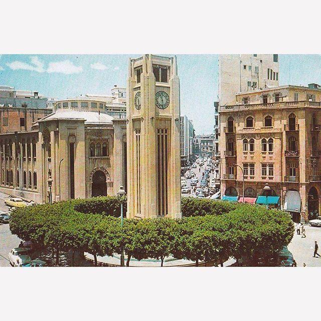 Good morning from Beirut Nejmeh square in 1966 .