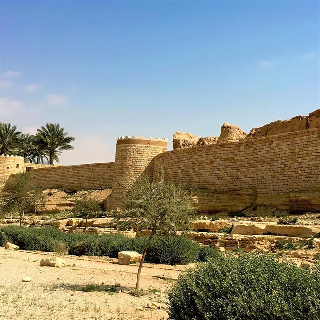 Diriyah Chapter - 06. The Wall photooftheday instapassport travelgram ... (Diriyah)