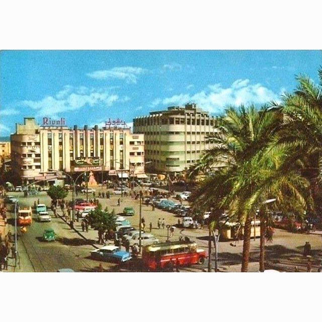 Beirut Martyrs Square In 1964 .