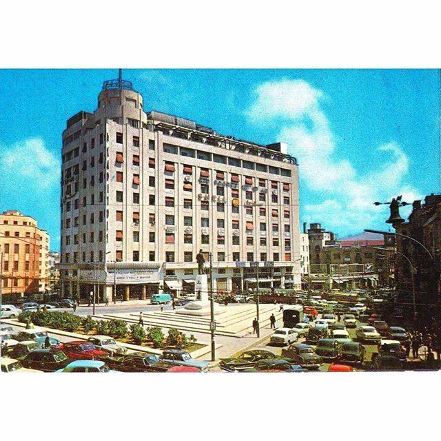 Beirut Ryad Al Solh Square In 1959 .