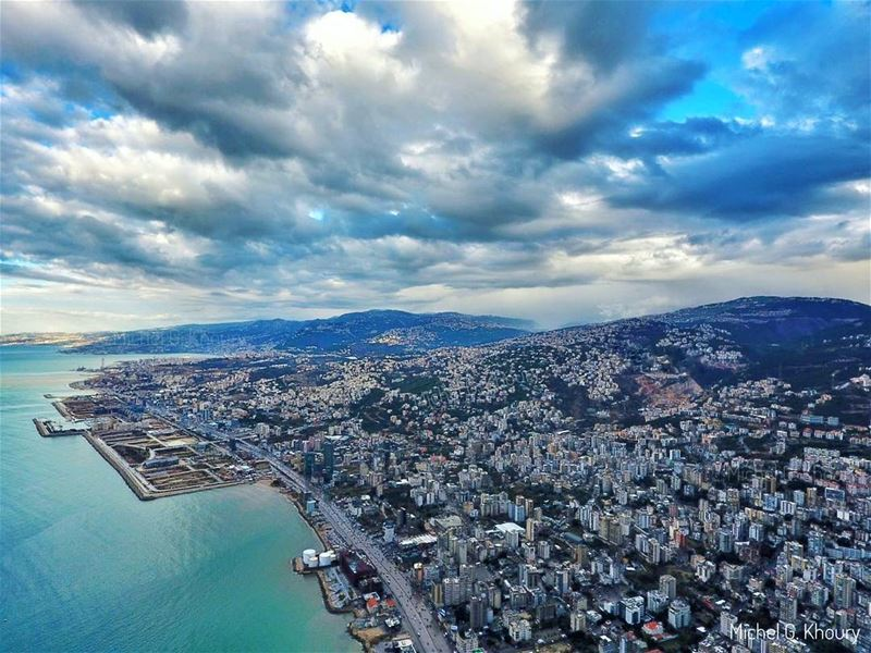 Morning with angry clouds 😎 AboveLebanon Lebanon LiveLoveBeirut ...
