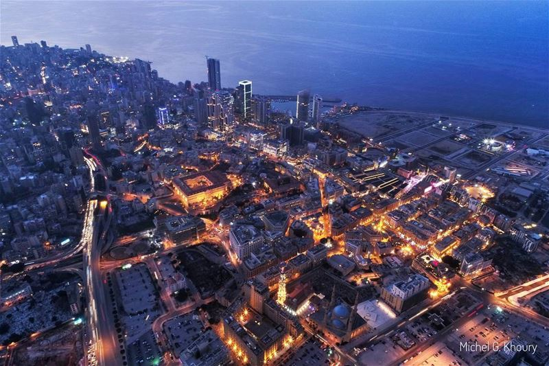 In Love with this view... B E I R U T ❤ AboveLebanon Lebanon ... (Beirut, Lebanon)