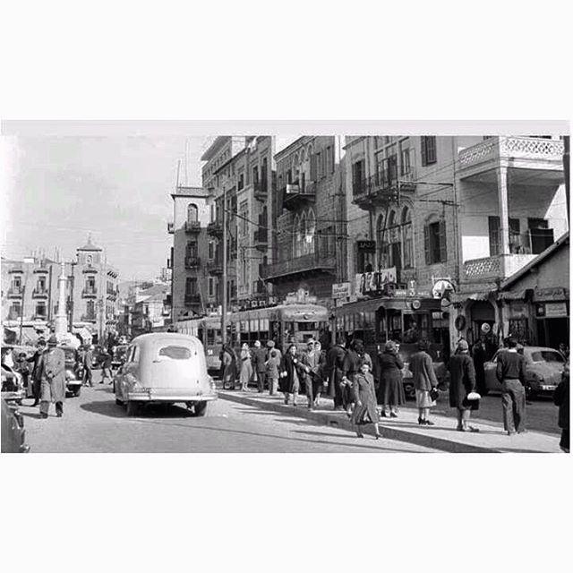 صباح الخير من بيروت رياض الصلح عام ١٩٥٩،