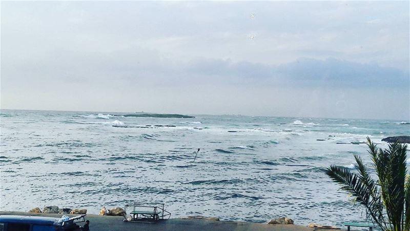 🌊🌊🌊 ElMina Abdelwahhab_Island Island Waves Tripoli TripoliLB ... (El-Mina, Tripoli)
