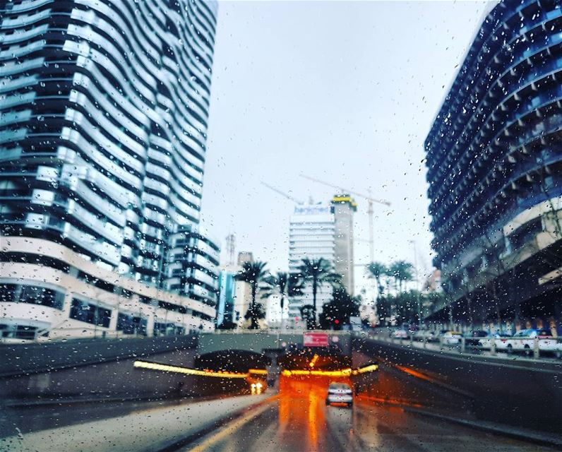 Rainy March lebanon beirut MyBeirut city city_explore rain ... (Beirut, Lebanon)