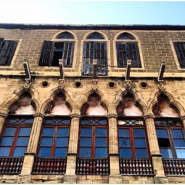 Saida Old Building Near Nejmeh Square,