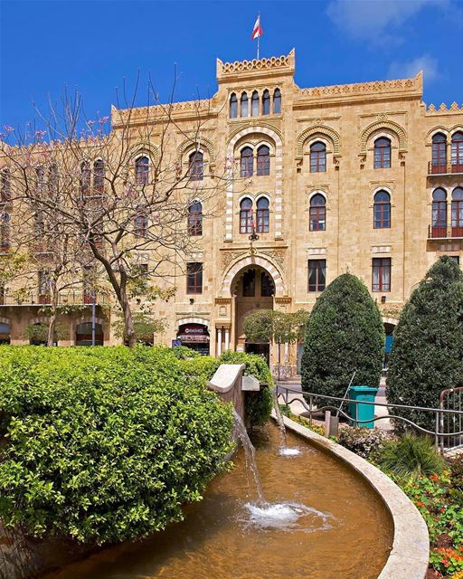 🇱🇧 Municipality of Beirut characterized by oriental-style and restored... (Beirut Municipality بلدية بيروت)