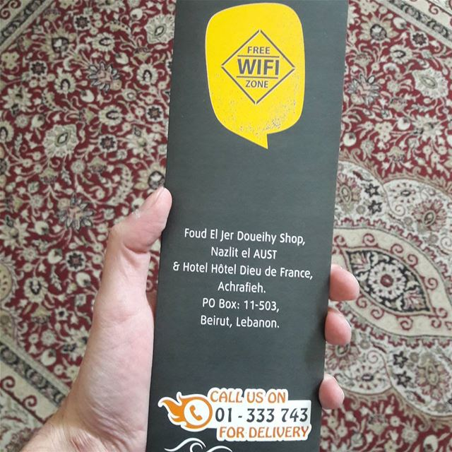 "Sorry ""Foud"" El Jer Doueihy.. kenna mfakrin esmak Fouad* and its a... (Achrafieh, Lebanon)"