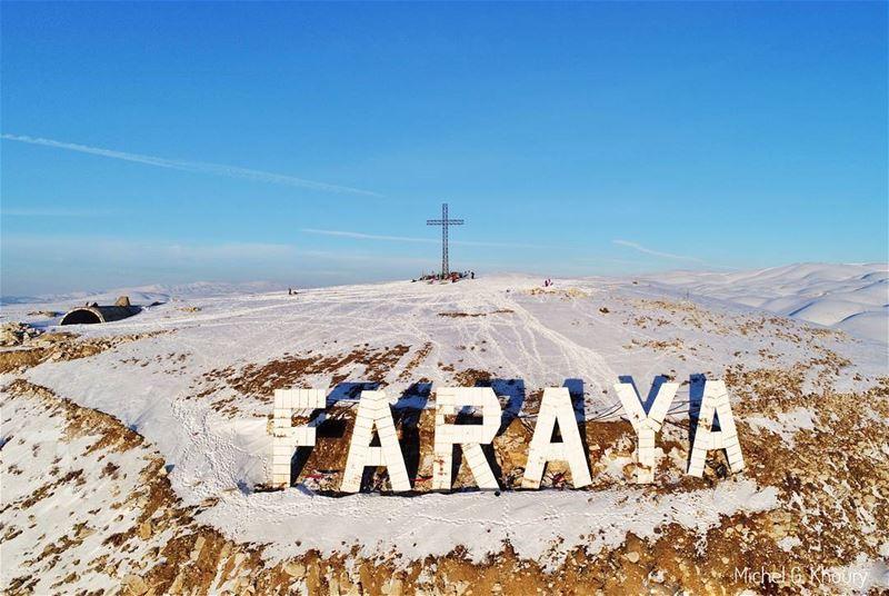 F A R A Y AFind the Hammocks @hikemen 👀 AboveLebanon Lebanon ... (Faraya, Mont-Liban, Lebanon)