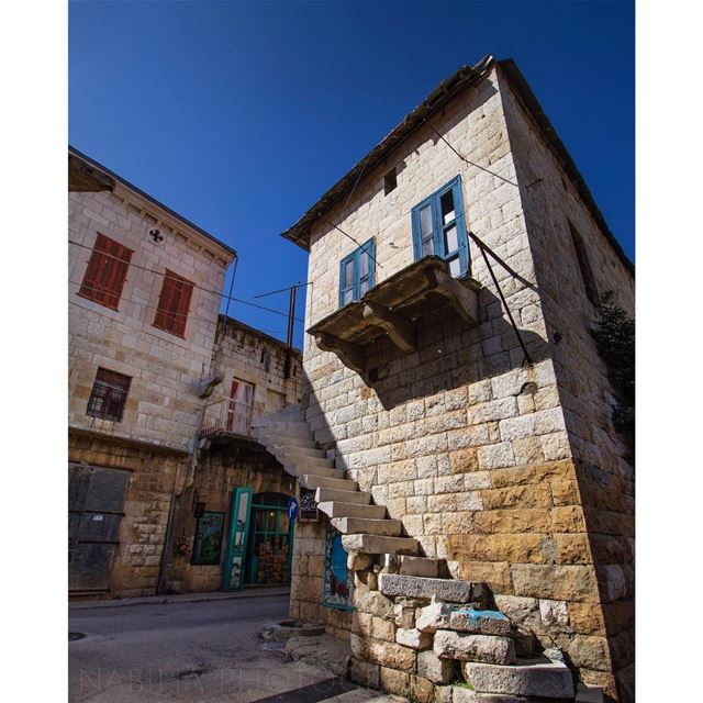 Douma Old Souk spring blue history old hike cloud canonlebanon ...