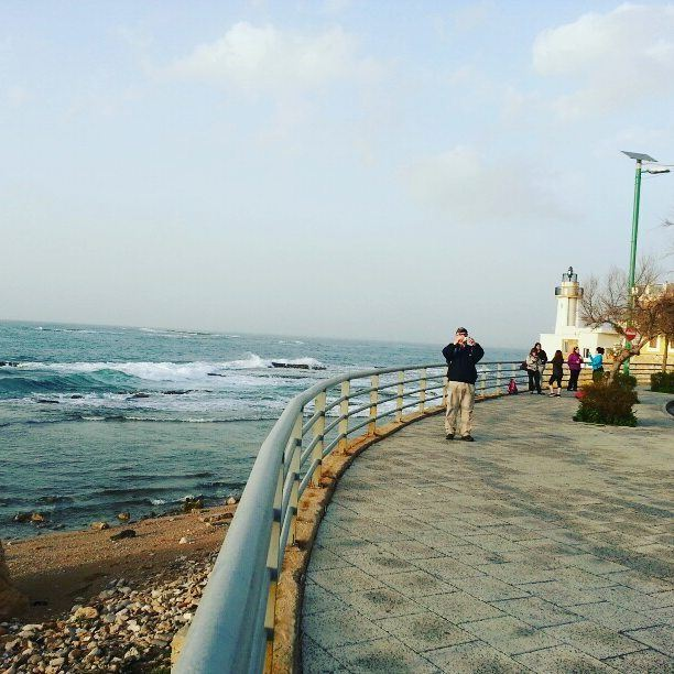 ▶→ beach sunset winter trip roadtrip offroad nature ... (Tyre, Lebanon)